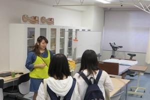 ●食物栄養学科プログラム● 実験・実習設備も見学できるキャンパスツアー!