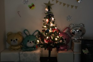 クリスマスツリー点灯